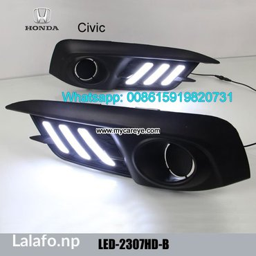 Honda civic drl led daytime driving lights aftermarket car part in Malangawa