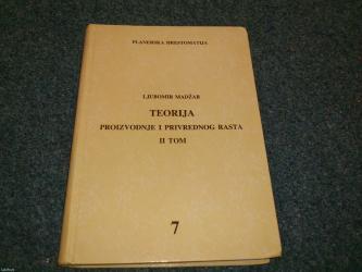 Sekretarica - Srbija: Naslov: teorija proizvodnje i privrednog rasta 2 - modeli dinamičke