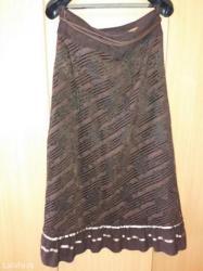 Duga leprsava haljina - Kraljevo: Duga suknja na prodaju,malo punija,plisana