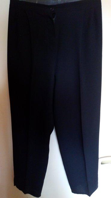 Crne zenske nove pantalone..br..46..oko pojasa..80cm.duzina 93cm.. - Kraljevo