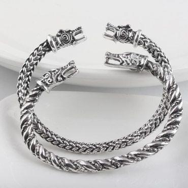 Teze Viking-drakon golbag material polad