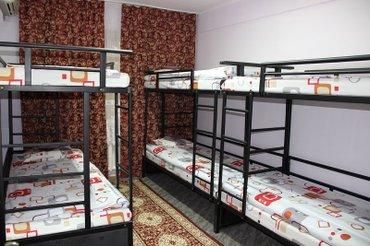 Двухярусные кровати с удобными и практичными матрасами, 4шт.  в Бишкек