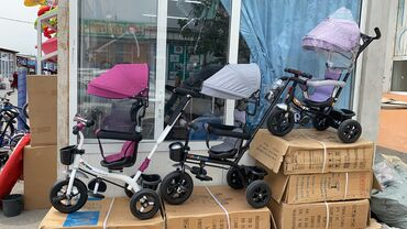 Коляски в Кок-Ой: Продаю велосипеды и самокаты хорошо качества новые