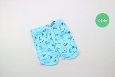 Дитячі шорти з принтом Blukids, вік 0-3 міс   Довжина: 28 см Довжина к