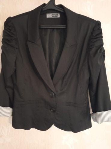 palto razmer 46 в Кыргызстан: Турецкий пиджак женский,46-48р, почти новая