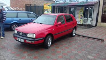 Volkswagen - Кызыл-Суу: Volkswagen Golf 1.6 л. 1993