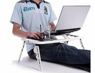 Jednostavan i praktičan rasklopivi sto za laptop sa kulerom