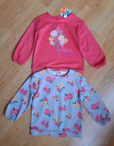 Детская одежда и обувь - Азербайджан: Noviye komplekti svitshotov Lc Waikiki na devochku 2-3 let, s birkami