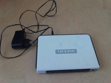 TP Link ADSL2+ modem. Lan kabel ilə noutbuk və ya kompyuterə в Хачмаз