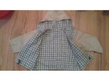 Gumirana jaknica koja ne propusta vetar ni kisu za dete do 2godine - Crvenka