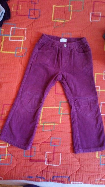 Somot pantalone za devojčice, za otprilike 3-4 godine, podšivene - Novi Sad