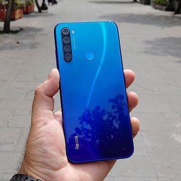 serviz na 8 person в Кыргызстан: Новый Xiaomi Redmi Note 8 64 ГБ Синий