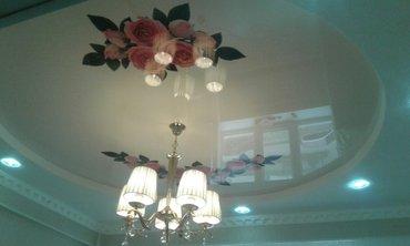 натяжные потолки (арт потолки.3D потолки и звездное небо) в Ош