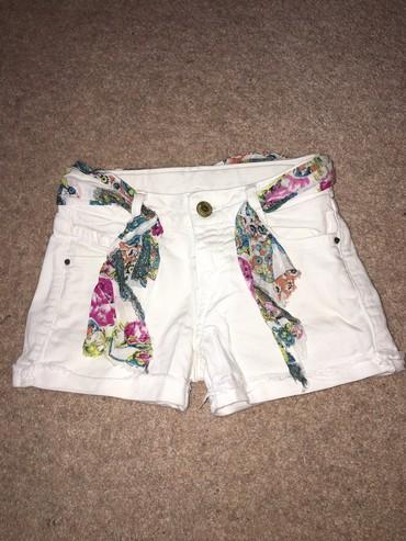 Zara джинсовые шорты, состояние отличное, размер 5-6 лет
