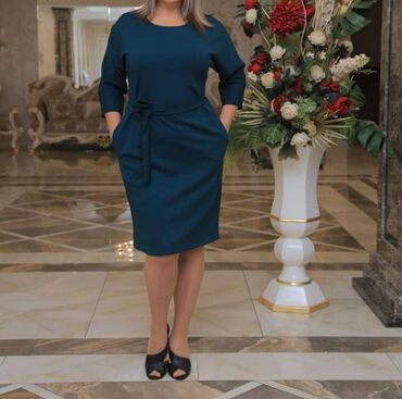вечернее платье темно синего в Кыргызстан: Платье Вечернее Fashion Girl XL