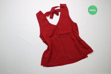 Жіноча блуза з бантиком на спині Massimo Dutti, p. M    Довжина: 61 см