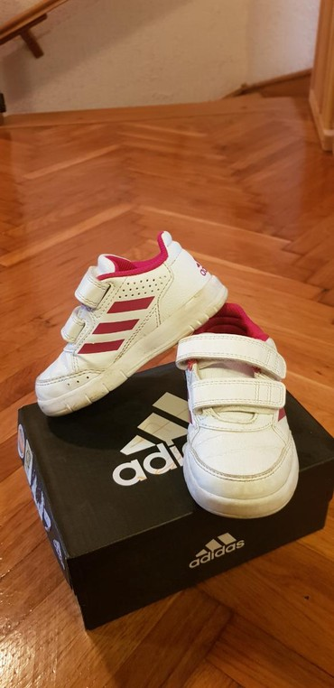 Adidas-patikice-kozne - Srbija: Decije adidas patikice kao nove br.22