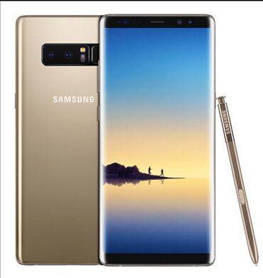 Mobilni telefoni   Sremska Kamenica: Upotrebljen Samsung Galaxy Note 8 64 GB zlatni