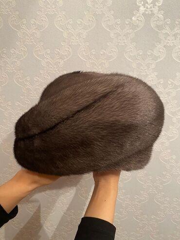 Норковая шапка, норка тумак 100%. Состояние как новая. Очень красивая