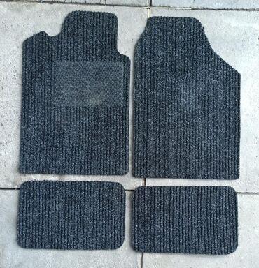 Комплект универсальных текстильных ковриков/поликов в салон