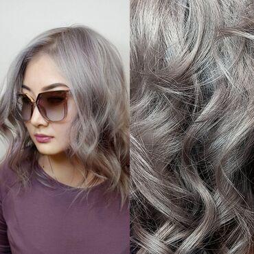 Мода, красота и здоровье в Душанбе: Окрашивание волос,тонировка волос пепельный оттенок
