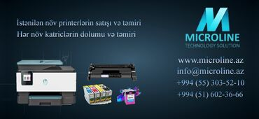 Заправка автокондиционеров - Азербайджан: Ремонт | Принтеры, оргтехника | Бесплатная диагностика
