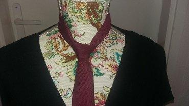 Sako-bordo-kom - Srbija: Bordo muska kravata