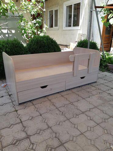 биндеры 500 листов электрические в Кыргызстан: Продаю Новую Красивую кровать!!!Все углы закруглённые!!!Длинна