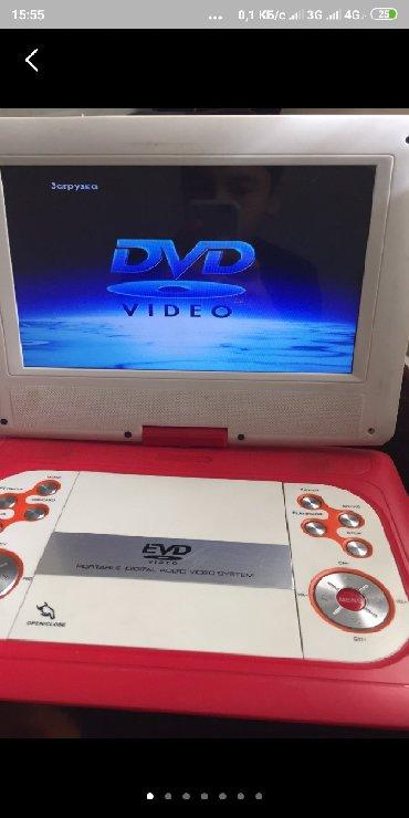 dvd-mpeg4 в Кыргызстан: DVD портативный новый гарантия год даставка по городу бесплатно