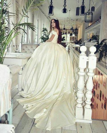 Милые дамы для вас сшила пышное, нежное, свадебное платье от Зарнигор. в Бишкек