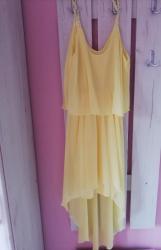 Nova haljina 2 puta obučena. Napred kraća pozadi duga. Mnogo lepo - Nova Pazova