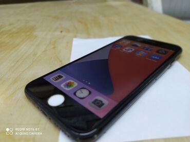 Apple Iphone - Бишкек: Б/У iPhone 7 32 ГБ Черный