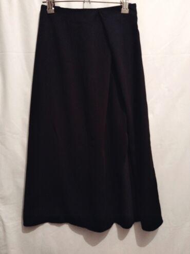 Юбка миди с разрезом Gloria Jeans. S-M.Цвет чёрный. Длина ниже колен