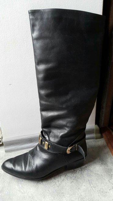 Кожаные итальянские сапоги 39 размера в отличном состоянии. Еврозима.  в Бишкек