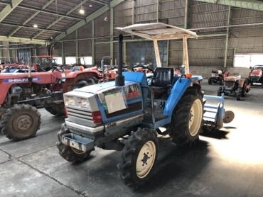 Трактор Японский исеки ТА250, свежий из Японии, 4вд, водяное охлаждени