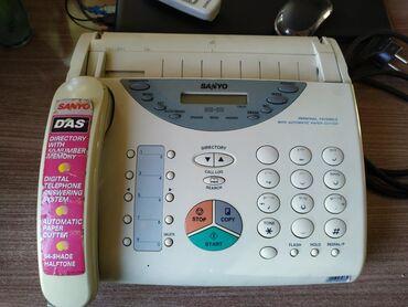 Продаю факс-телефон. В рабочем состоянии. Работает отдельно как