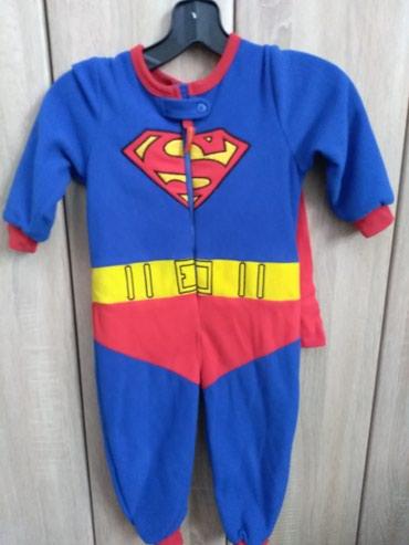 Dečija odeća i obuća - Prijepolje: Supermen odelo za maskenbal. Kupljeno u Nemackoj. Obuceno 2 puta po