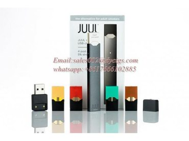 JUUL Device kit with USB Charger and 4 Pod Multipack σε Ασβεστοχώρι