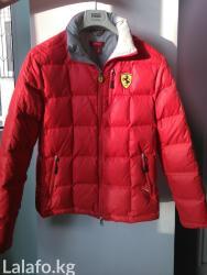 """Куртка """"ferrari""""с наполнителем. теплая, в Бишкек"""