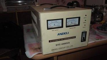 Электромонтажное оборудование - Бишкек: Продаю стабилизаторы напряжения на 220 вольт.от 0.5