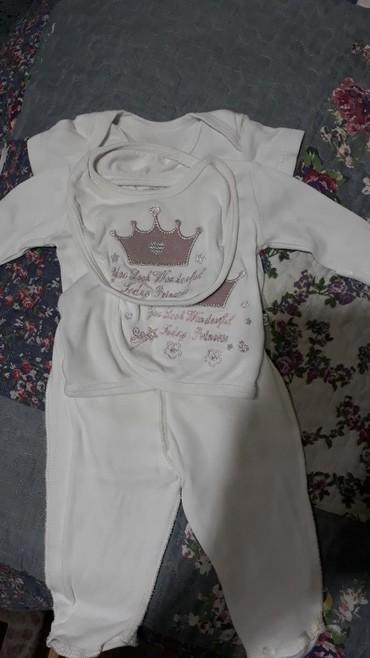набор-для-новорожденного в Кыргызстан: Набор для новорожденного. Бодик,ползунки,кофточка и слюнявчик