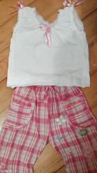 presladak kompletic velicina 1 pantalonice se nose kao krace - Beograd