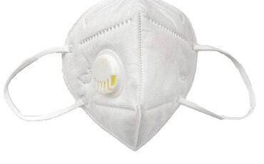 Респираторные маски с фиксатором по оптовой цене. доставка от 100шт