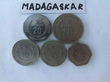 Madagaskar , kovanice , - 10 ariari , 1978 god , 1983 god , 1992 god - Kovin