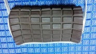 Duzina cm kais - Srbija: Torbica braon boje duzina 23 cm visina 16 sa srebrnim kaisem