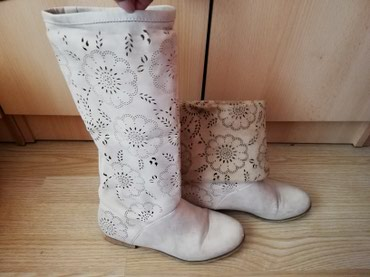 Cizme za jesen, proleće, krem boja - Lajkovac