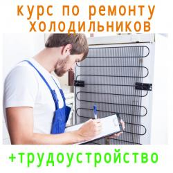Обучаем ремонтировать холодильники. Каждый день по 2 часа с