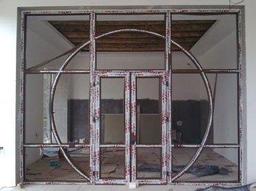 Пластиковые окна, двери и витражи. в Бишкек