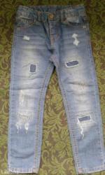 Продаю джинсы на мальчика 6-7лет. Цена-400с. в Бишкек