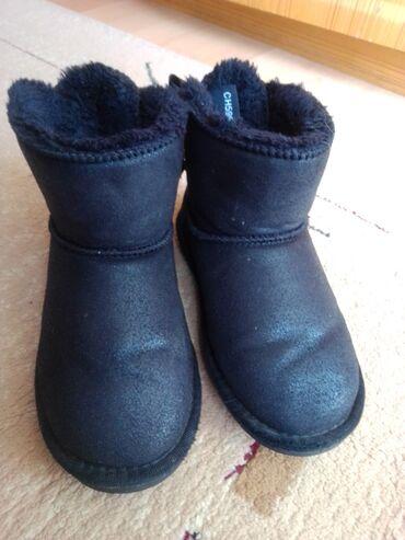Dečija odeća i obuća - Nova Pazova: Crne bucke, broj 31, realno 30, bez ostecenja